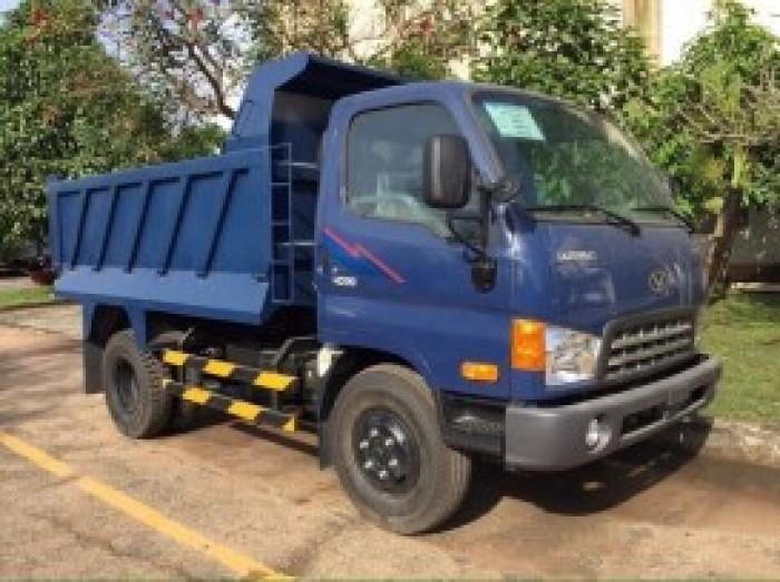 Xe Ben Hyundai DOTHANH HD99 - Sat Xi Ngắn thùng Ben 5 Khối - Tải trọng 6.100 kg.
