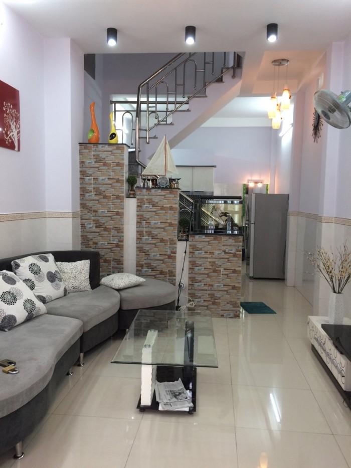 Bán nhà 2 lầu, 3,8x14m dt 114m2 Mặt tiền Kinh Dương Vương, Bình Tân. Giá 5,9 tỷ