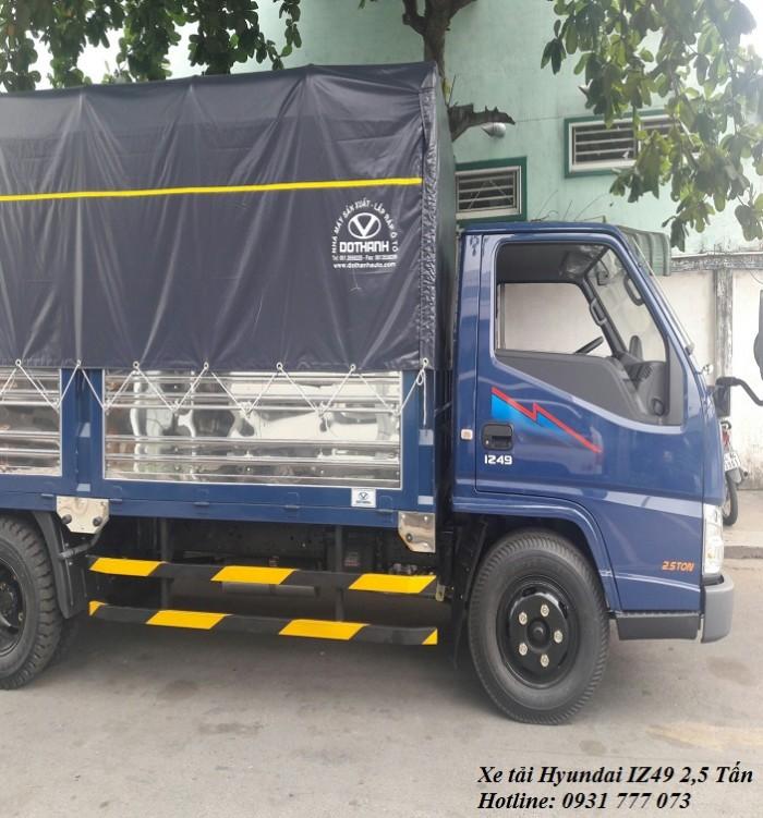 Hyundai IZ49 2,4 Tấn - Trả trước 80 triệu, giao xe trong vòng 5 ngày 5