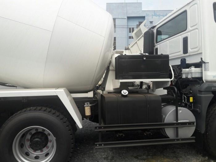 Xe bồn trộn bê tông Daewoo 7 Khối - Giao xe trong vòng 5 ngày