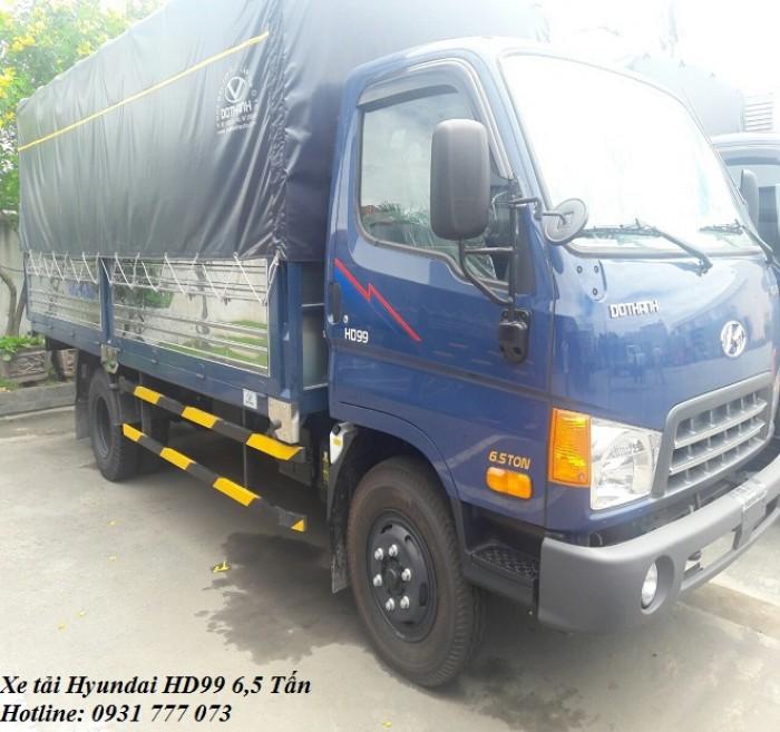 Hyundai HD99 6,5 Tấn, tặng xe máy, tặng tiền mặt khi mua xe