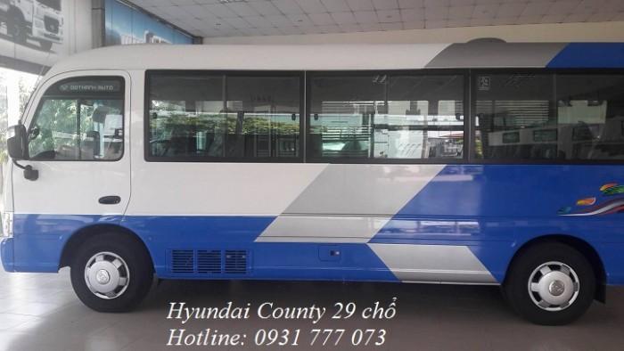 Hyundai County 29 chỗ giá tốt nhất - Hotline: 0931777073 (24/24)