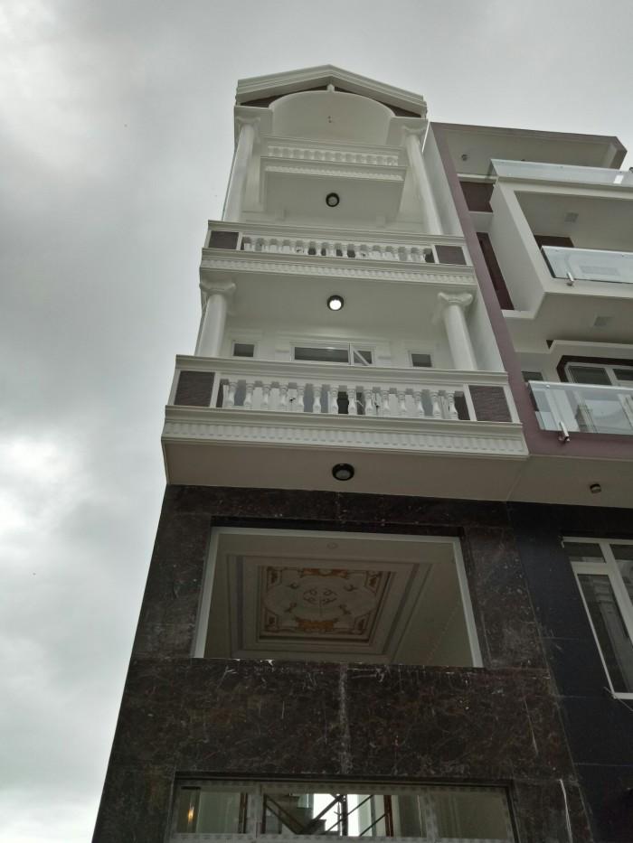 Nhà 1 lửng 2 lầu kèm sân thượng giá cực rẻ