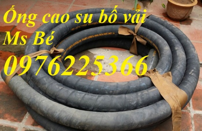 Ống cao su bố vải D50, D60, 76, 80, 90,100,110,120, 150...D300