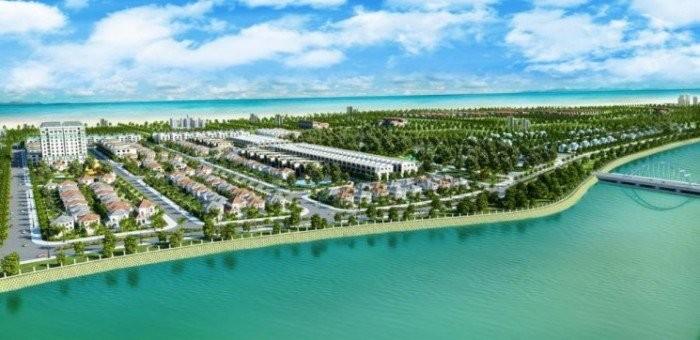 Mình Bán Biệt Thự View Sông – Cách biển 300m. Giá Chỉ 3.5 tỷ