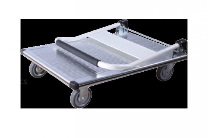Xe đẩy hàng 4 bánh sàn nhôm-tải trọng 300kg-Bảo hành 2 năm