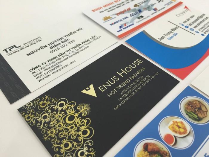 Bạn sẽ hài lòng với những mẫu card visit đẹp hút hồn được thiết kế bởi đội ngũ kỹ thuật viên từ In Kỹ Thuật Số