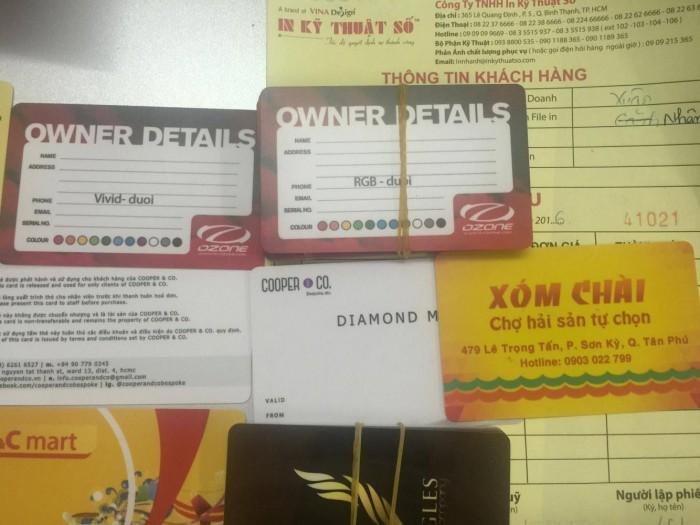 Địa chỉ in card visit – in name card – in danh thiếp ở TPHCM - 365 Lê Quang Định, p...