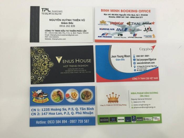 Để nâng cao hình ảnh thương hiệu của công ty bạn. Một cách để bạn làm đẹp hình ảnh đó là đầu tư vào dịch vụ thiết kế name card và in name card chuyên nghiệp.