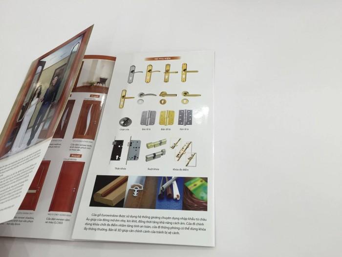 In ấn brochure chất lượng cao