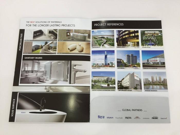 In brochure giá rẻ lấy ngay tại quận Bình Thạnh