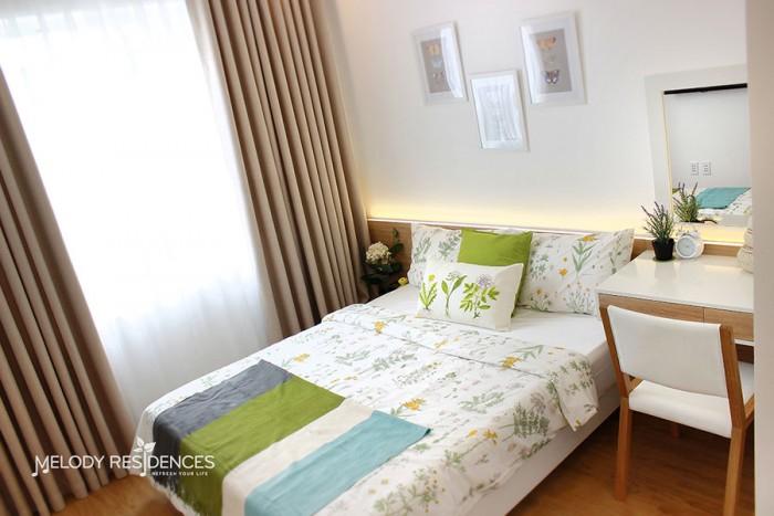 Bán căn hộ Melody Residences B08 tầng 10 view Trần Tấn bao chuyển nhượng