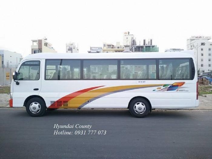 Xe khách 29 chỗ, xe Hyundai County 29 chỗ - Hotline: 0931777073 (24/24)