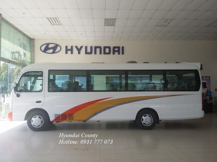 Xe khách 29 chỗ, xe Hyundai County 29 chỗ - Hyundai Đô Thành
