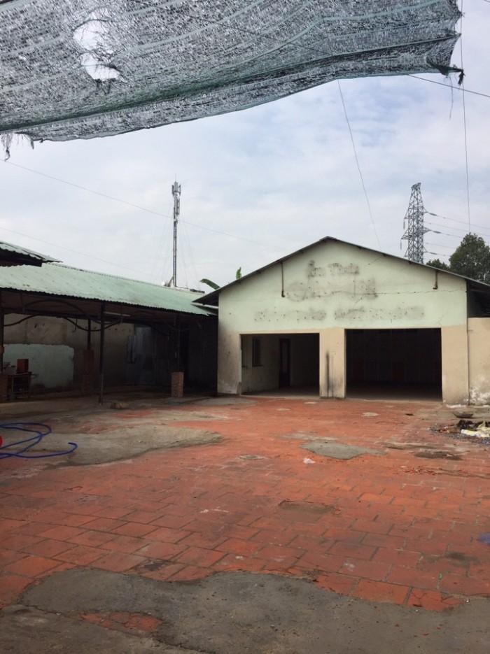 Cho thuê kho xưởng mặt tiền đường TA04, phường Thới An – Quận 12