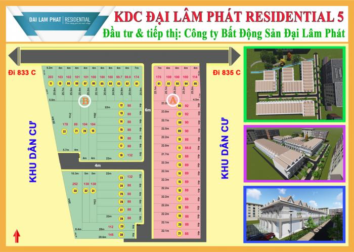 Cơ hội đầu tư sinh lời cao với KDC Đại Lâm Phát Residential