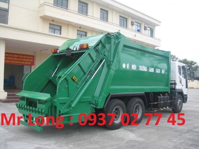 Xe Cuốn Ép Rác 20 Khối Daewoo , Daewoo 3 Chân Chở Rác Thải , Xe Chở Ép Rác Daewoo , xe DAEWOO 15 tấn chở rác thải
