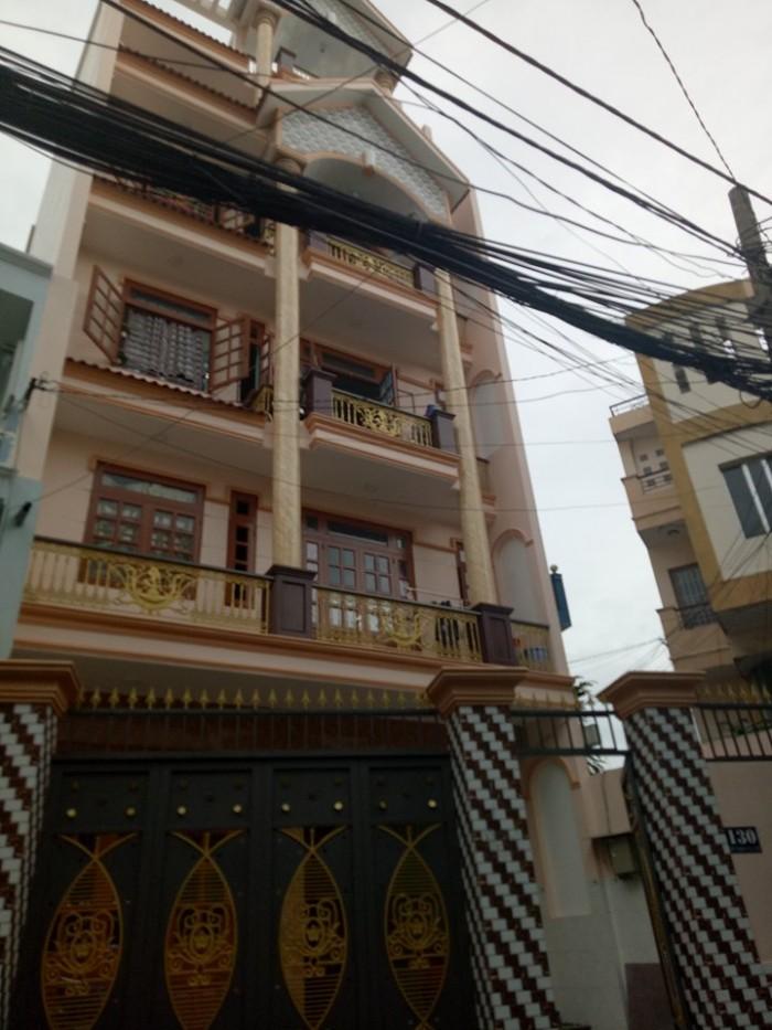 Bán MT Trần Văn Đang, P11, Q3: 117m2, 9.8 tỷ, 1 trệt 3 lầu.
