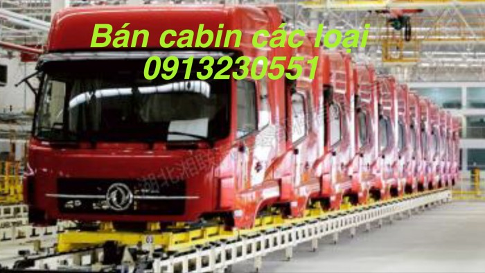 Bán cabin xe tải dongfeng, chenglong, c&c 0