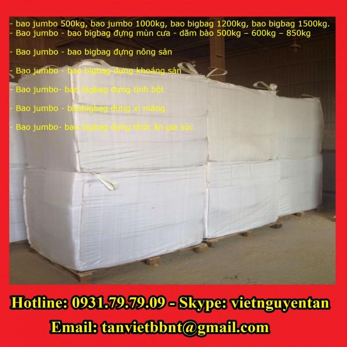 Bao Jumbo 1000kg, Bao Jumbo 2000kg, Bao Jumbo đựng gạo, Bao Jumbo đựng bột mỳ5