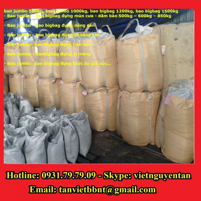 Bao Jumbo 1000kg, Bao Jumbo 2000kg, Bao Jumbo đựng gạo, Bao Jumbo đựng bột mỳ3