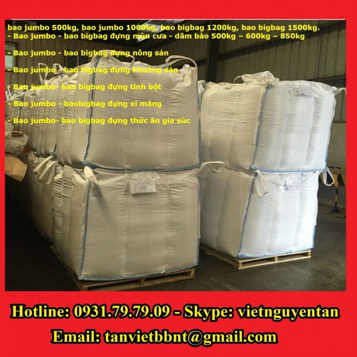 Bao Jumbo 1000kg, Bao Jumbo 2000kg, Bao Jumbo đựng gạo, Bao Jumbo đựng bột mỳ2