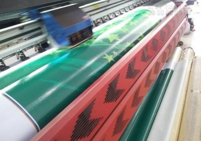 Máy in phun kỹ thuật số khổ lớn - mực dầu - cho chất lượng thành phẩm, màu s...