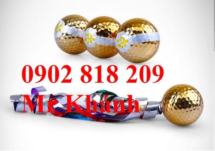 Bóng golf ruy băng cho khai trương, banh golf khai trương2