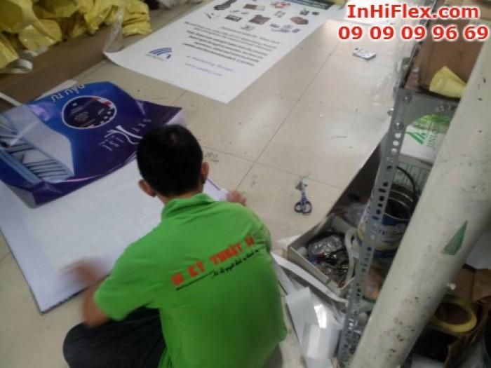 Nhân viên In Kỹ Thuật Số trực tiếp gia công thành phẩm in hiflex - giúp đơn hàng...