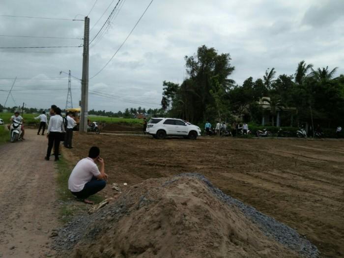 Lô đất 2 mặt tiền giá rẻ tại tỉnh Long an giá chỉ 350 triệu 100m2