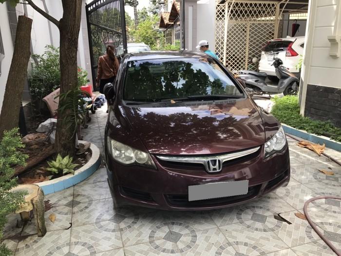 Cần bán xe Honda Civic 2009 số sàn màu tím còn mới như chưa chay 1