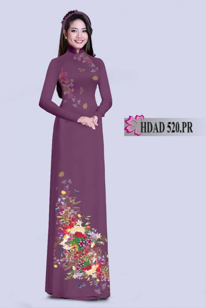 Vải áo dài HDAD 520