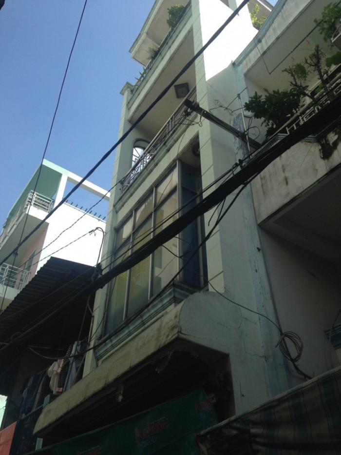 Bán nhà hẻm Cao Thắng, p17, PN 1tr, 2L, ST giá 2,9 tỷ