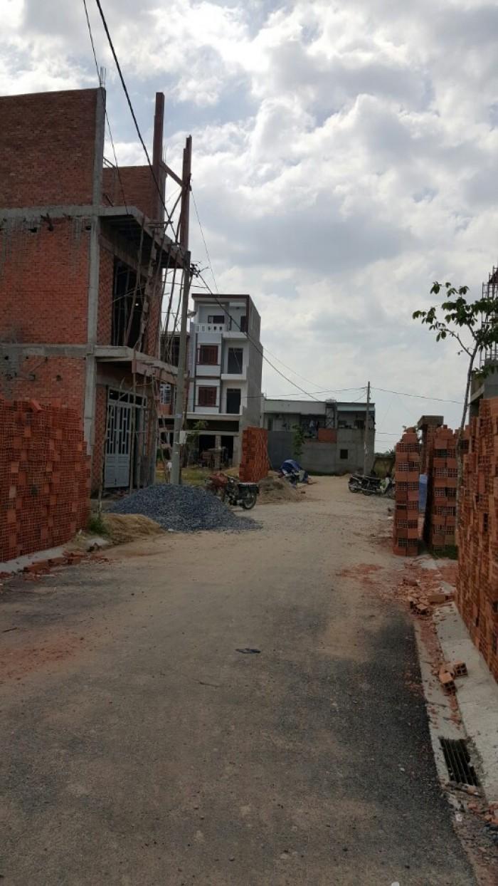 Đất thổ cư sổ riêng , gần ubnd huyện hóc môn, tặng gpxd giá chỉ 12tr/m2.