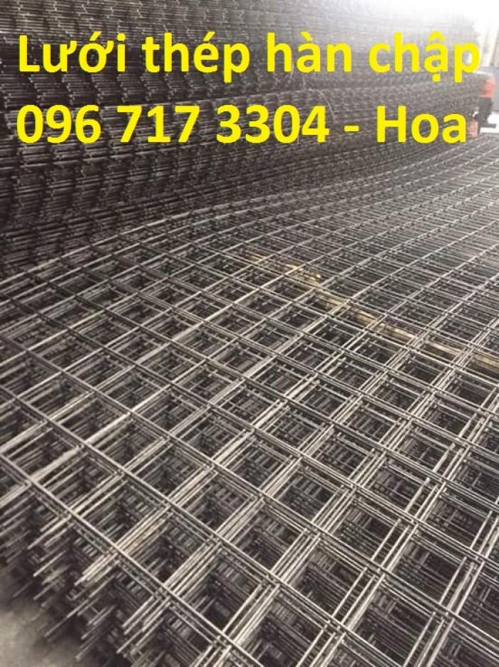 Lưới thép hàn D6(150*150) giá tốt chịu cường lực