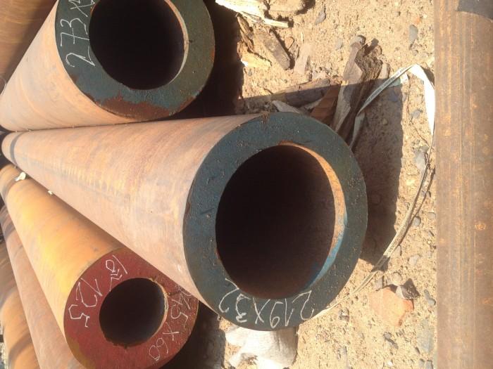 Thép ống đúc DN150 phi 168x50lyx6m-12m, Đường kính ngoài 168mm, dày 50ly, 6 inch, chiều dài từ 6m đến 12m0