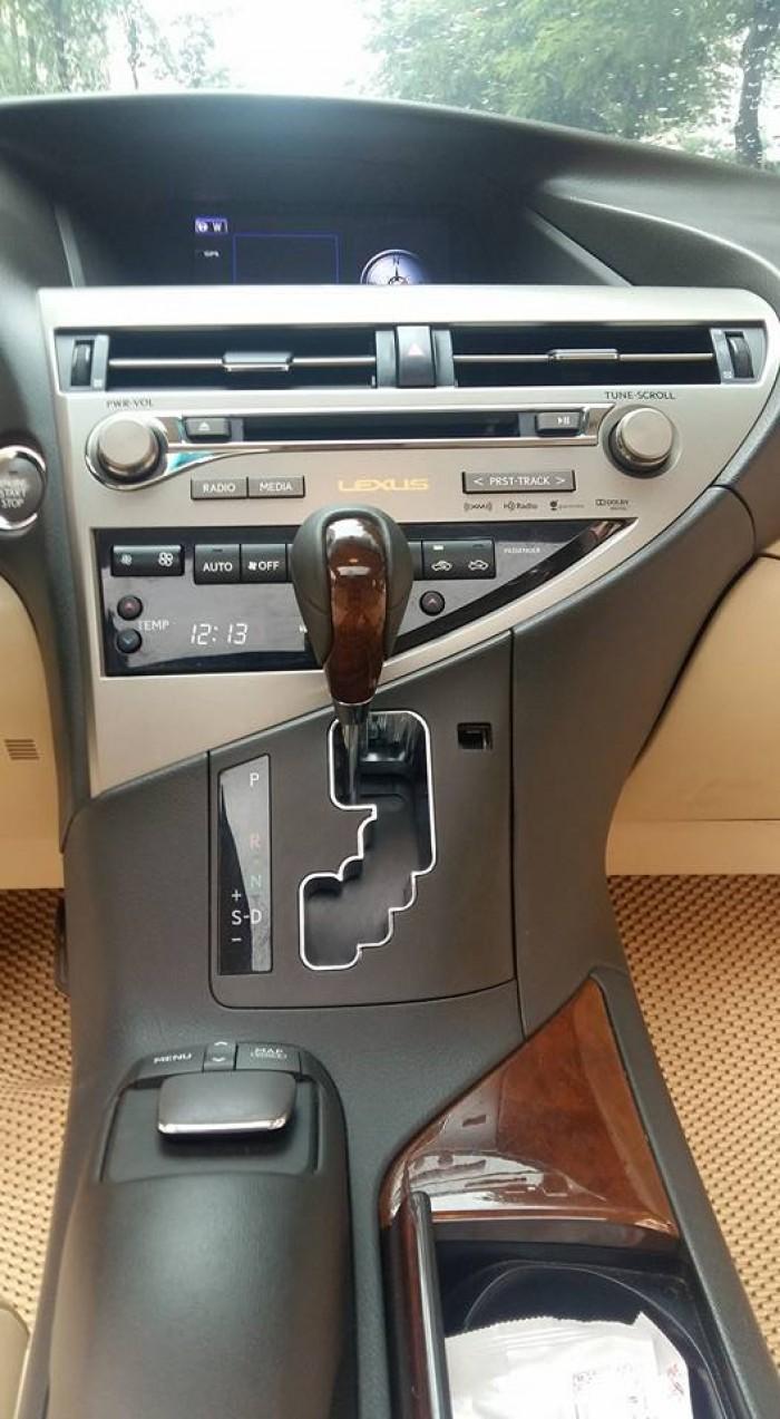 Lexus RX350 xuất Mỹ bản tiêu chuẩn, sx2013 đăng ký lần đầu 2015 9