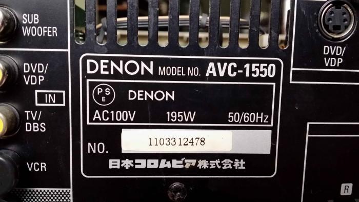 Amply nội địa Denon AVC 15506
