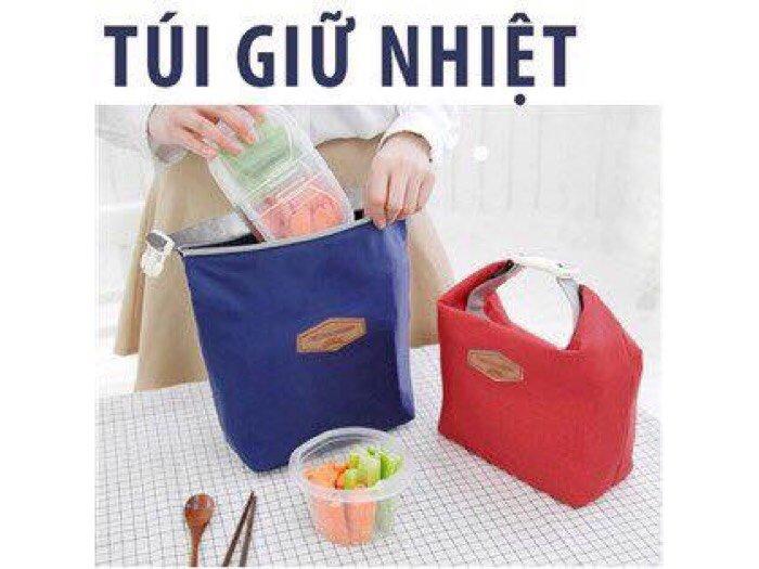 Túi giữ nhiệt giúp bảo quản thức ăn tươi ngon phù hợp vs ace văn phòng