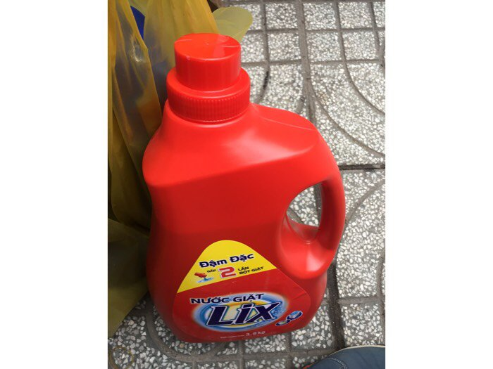 Nước giặt Lix 3,8kg