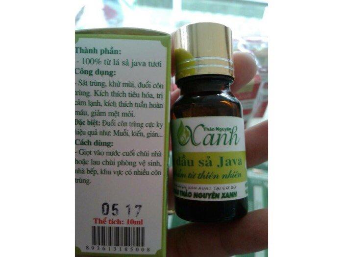 Tinh dầu sả Java