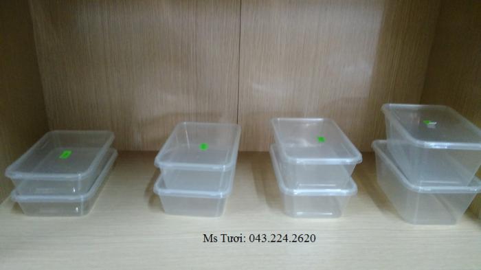 Hộp nhựa dùng một lần- Hộp nhựa kimchi- Hộp tròn, vuông microwave4
