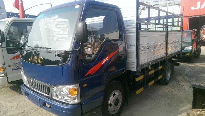 Xe tải JAC 3t45 cabin đầu vuông 2017