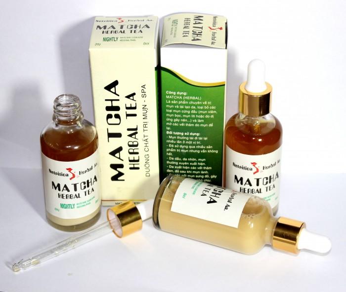 Sản phẩm dành cho những người có mụn bọc, mụn mủ, mụn đầu đen từ matcha