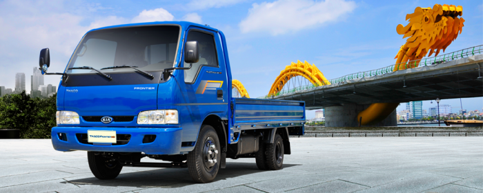 Bán xe Kia tải trọng 2 tấn 4 Kia K165S Cần Thơ