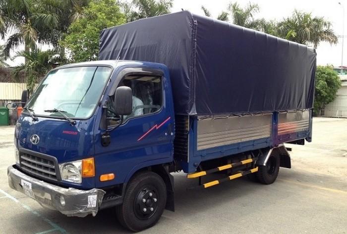 Hyundai HD99 sản xuất năm 2017 Số tự động Xe tải động cơ Dầu diesel
