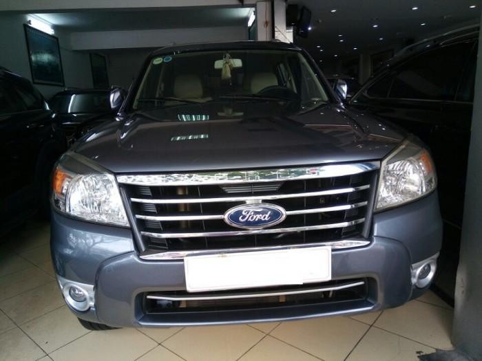 Ford Everest Limited 2.5 số tự động màu Xám , sản xuất năm 12/2009
