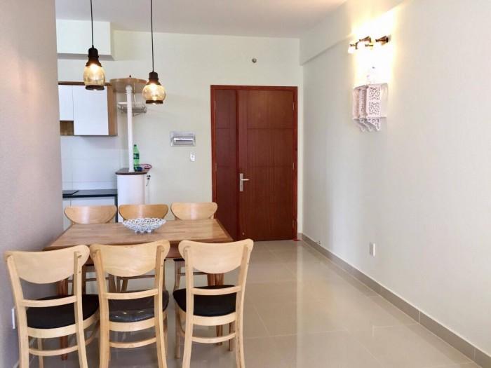 Cho thuê CHCC Topaz City, Quận 8, DT: 68 m2, 2 PN, Lầu cao, nhà thoáng, giá 11tr/tháng