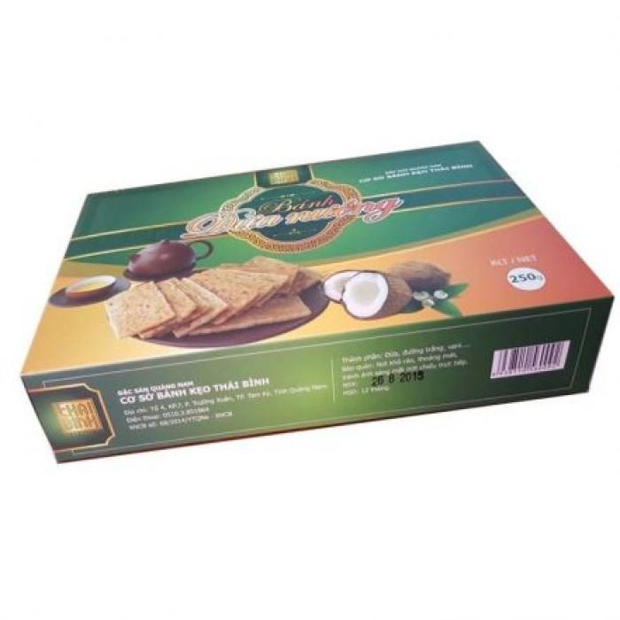Combo 05 hộp Bánh dừa nướng Thái Bình (đặc biệt)0