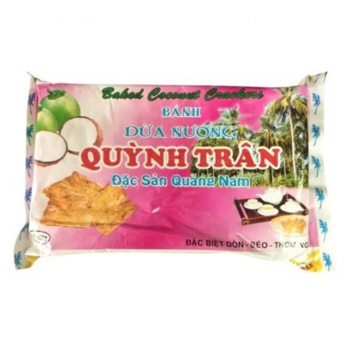 Combo 05 gói Bánh dừa nướng Quỳnh Trân0